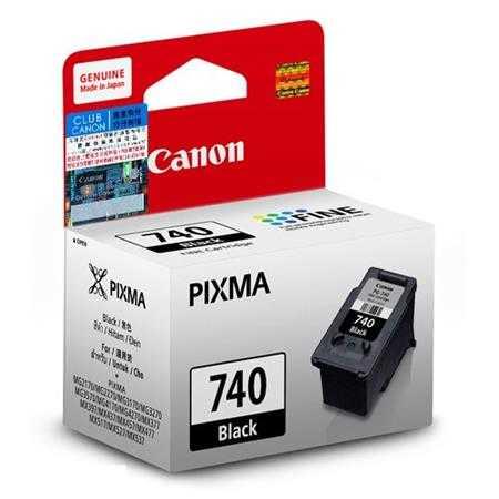 muc in canon pg740 black ink cartridge pg740
