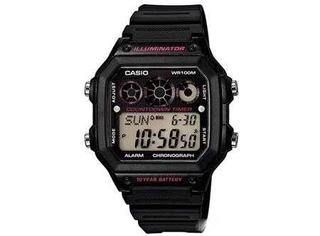 dong ho casio ae 1300wh 1a2vdf day nhua