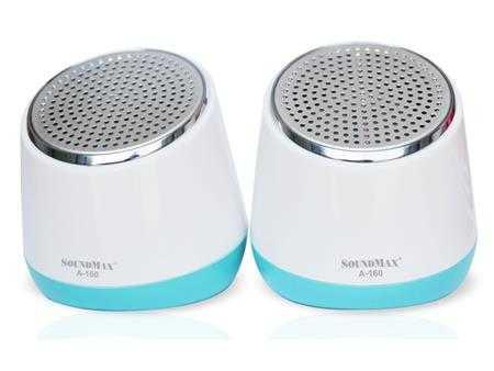 loa vi tinh mini soundmax a160 g