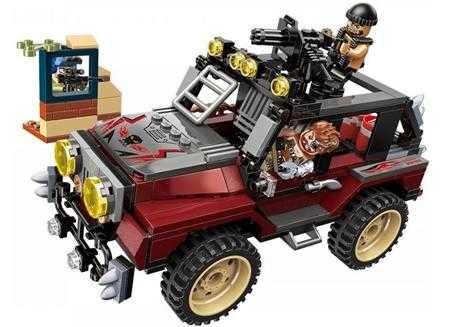 do choi lap ghep qman block armed jeep xe jeep vu trang tm3203