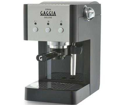 may pha ca phe gia dinh gaggia gran deluxe