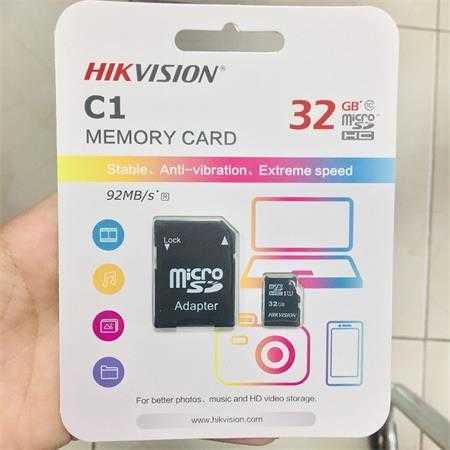 the nho hikvision 32gb