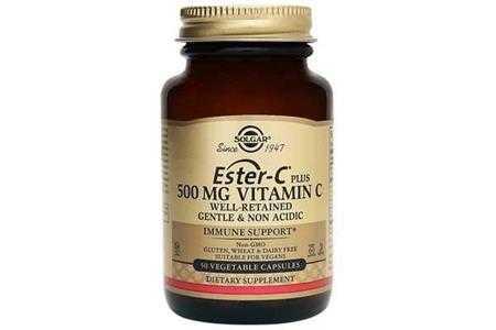 thuc pham bao ve suc khoe ester c 500mg vitamin c solgar 50 vien