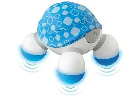 may massage cam tay mini turtle 3 dau homedics nov 60 xanh
