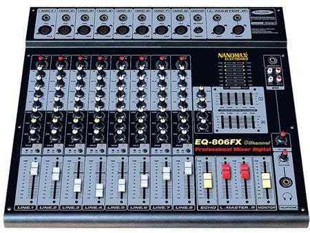 mixer nanomax eq 806fx 1