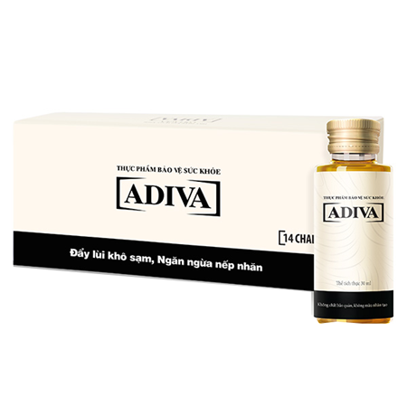 collagen adiva dang nuoc hop 14 lo x 30ml g1