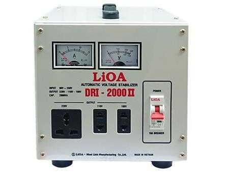 on ap 1 pha lioa 2kva dri 2000 ii g
