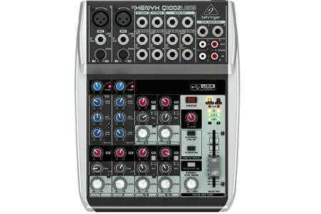 mixer behringer xenyx q1002usb g2