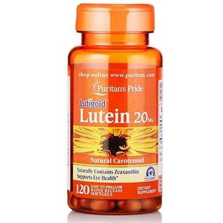 puritan s pride lutein 20 mg with zeaxanthin 4904 g1