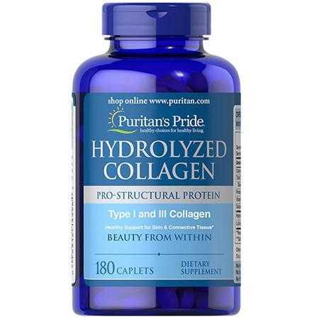 puritan s pride hydrolyzed collagen 1000 mg g