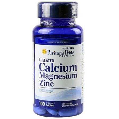 vien uong bo sung canxi puritan s pride chelated calcium magnesium zinc 4290 hop 100v g1