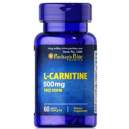 giam can puritan s pride l carnitine 500 mg g