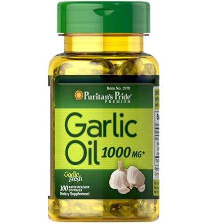vien uong dau toi puritan s pride garlic oil 1000 mg 2970 hop 100 vien 1