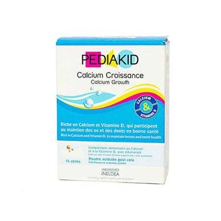 pediakid calcium croissance tang truong chieu cao