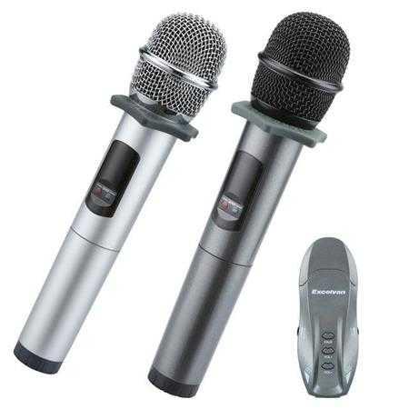 micro karaoke khong day hat tren o to excelvan k18u