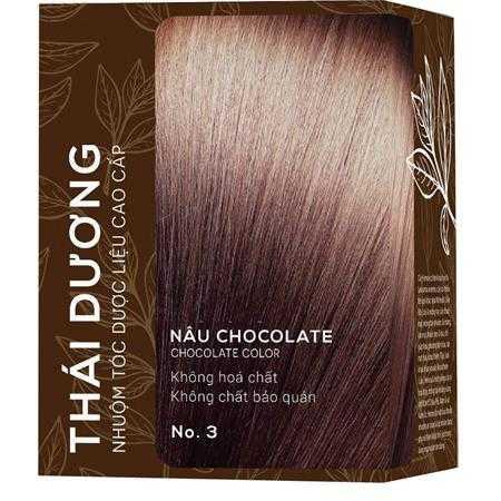 nhuom toc duoc lieu thai duong nau chocolate g