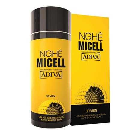 nghe micell adiva hop 30 vien sl3