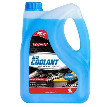 nuoc lam mat dong co o to focar blue coolant sl1