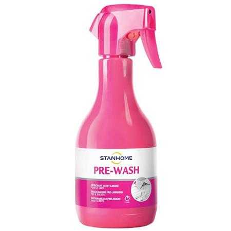 dung dich tay vet ban quan ao an toan pre wash extra stanhome 500ml