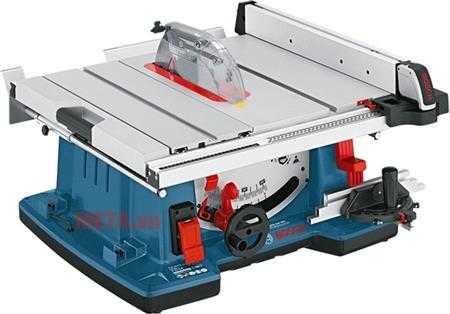 may cua Bosch GTS 10 XC xanh