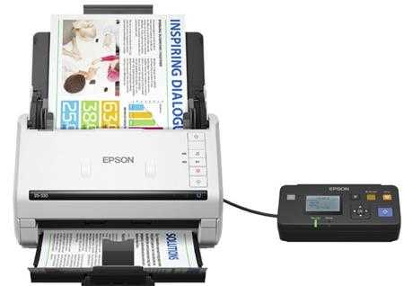may scan epson ds 530 to
