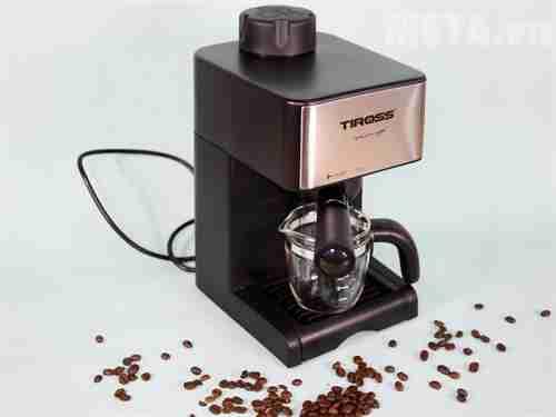 may pha ca phe espresso tiross ts 621