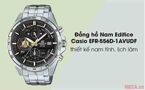 dong ho nam edifice casio efr 556d 1avudf bac 1
