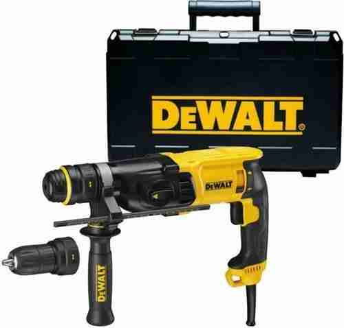 may khoan duc be tong dewalt d25144k
