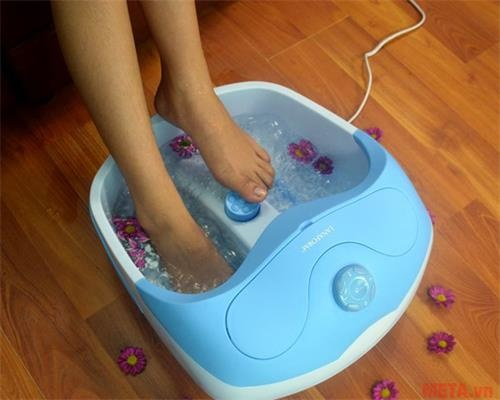 bon massage chan lanaform bubble footcare la110412 anh10