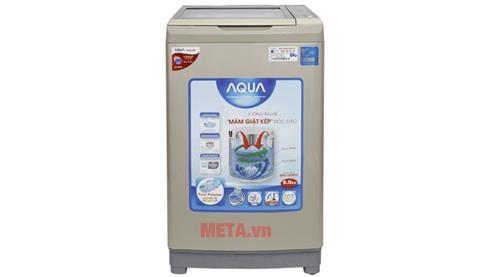 may giat long dung aqua inverter aqw dw90at 9kg sl