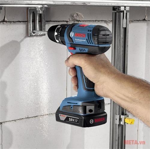may khoan Bosch GSB 18 2 LI Professional use