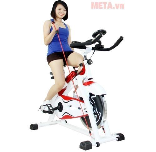 xe dap the duc spin bike tay