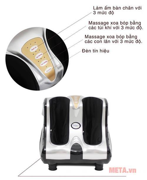 may massage chan perfect fitness pfn 02 tren