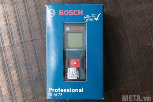 may do khoang cach bosch laser glm 25 hop