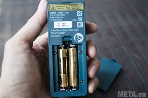 may do khoang cach bosch laser glm 25 pin