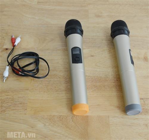 loa karaoke bluetooth bosser sa 181k micro