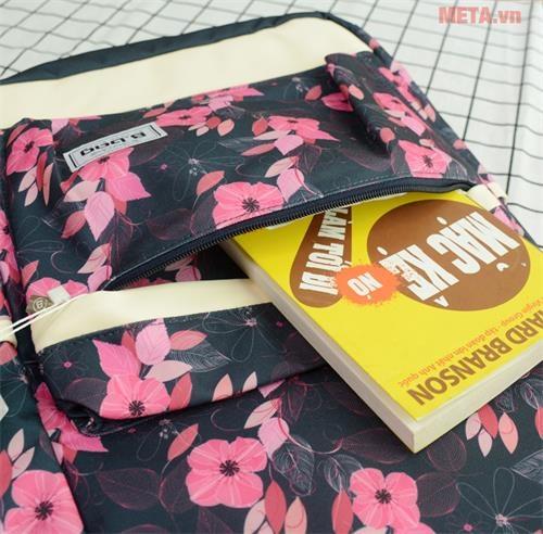 ba lo hoa tiet hoa b 23 012 mau hong tim ngan phu