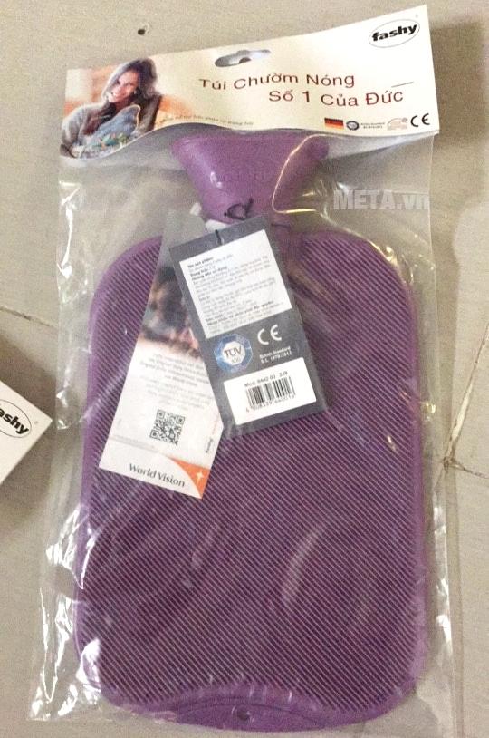 Túi chườm nóng lạnh Fashy 2 mặt màu tím
