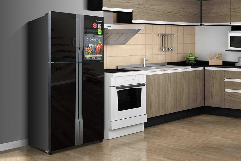 Tủ lạnh side by side Inverter Panasonic NR-DZ600GKVN 550 lít