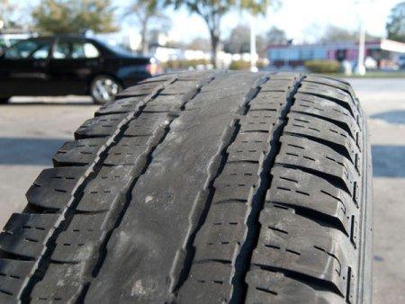 Bạn sẽ phải thay ngay lốp xe đã bị mòn để đảm bảo an toàn khi tham gia giao thông
