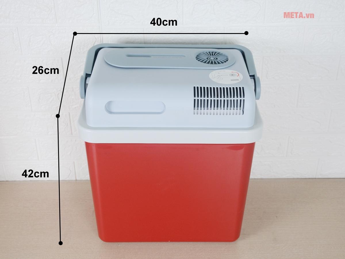 Tủ lạnh mini 12V cho ô tô Mobicool P24 DC/AC