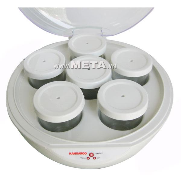 Máy làm sữa chua Kangaroo 1 lít KG80 (6 cốc thủy tinh)