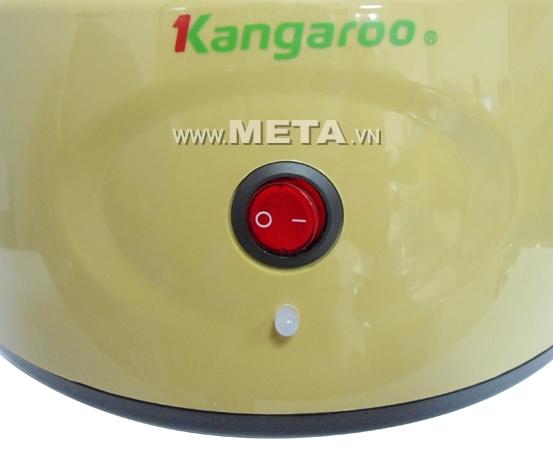 Máy trồng rau mầm KG-262 sử dụng một nút bấm duy nhất.