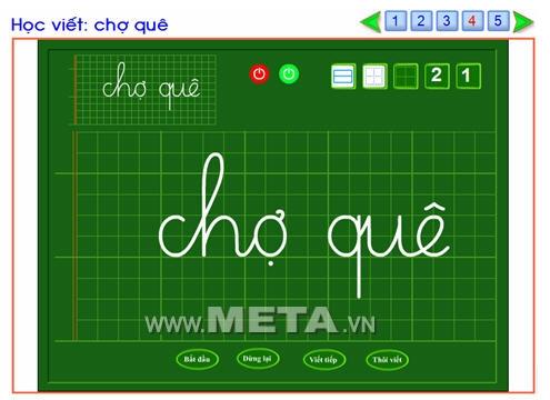 Tập viết chữ Việt 1