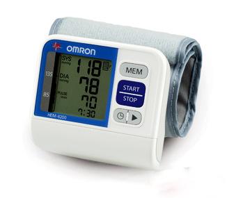 Máy đo huyết áp cổ tay HEM-6200