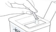 Hủy bỏ kim lấy máu của máy đo đường huyết MediSmart Sapphire