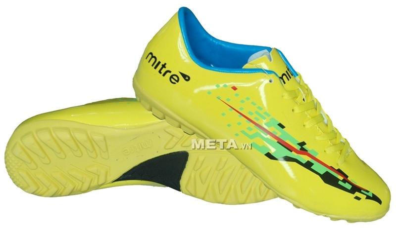 Giầy bóng đá Mitre sân cỏ nhân tạo FS001 (14001) - Yellow có khả năng chống thấm nước