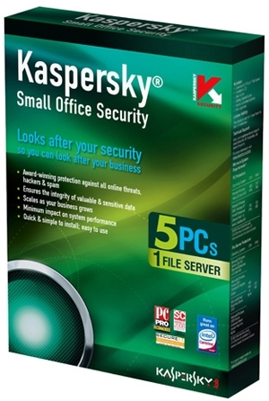 Kaspersky Small Office Security (5PC - 1FileServer/1 năm)
