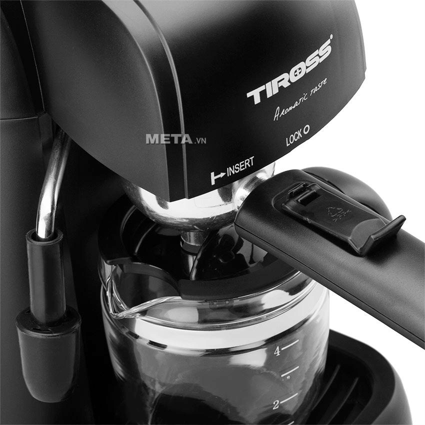 Hướng dẫn sử dụng máy pha cà phê ESPRESSO Tiross 620