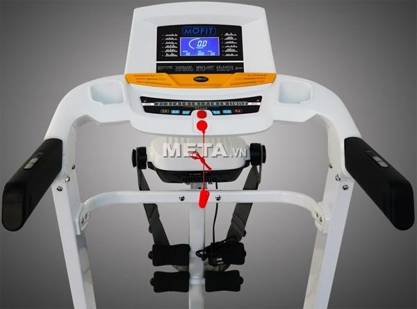 Máy chạy điện cao cấp MHT-2421M có trang bị thêm đầu massage